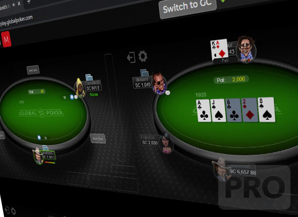 Variant of casino video game High Card Flush